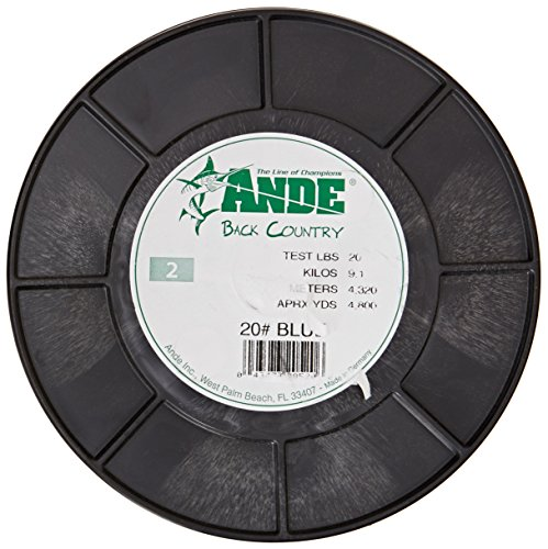 Ande A2-20BC Back Country Monofilament Fishing Line, 2-Po...