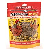 Unipet USA LLC 084103 Hentastic Mealworm to Go Chicken Treats, 3.5 oz