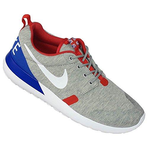 Zapatos de entrenamiento Rosherun Qs deporte - grey heather white university red 002