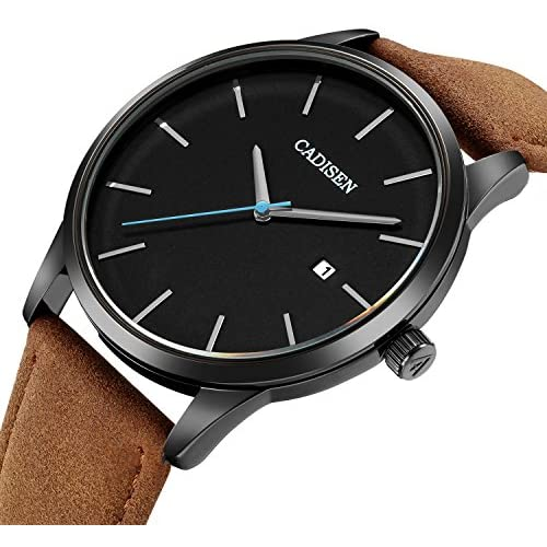 VOEONS Men's Analog Wrist Watch with Date - 30M Waterproof