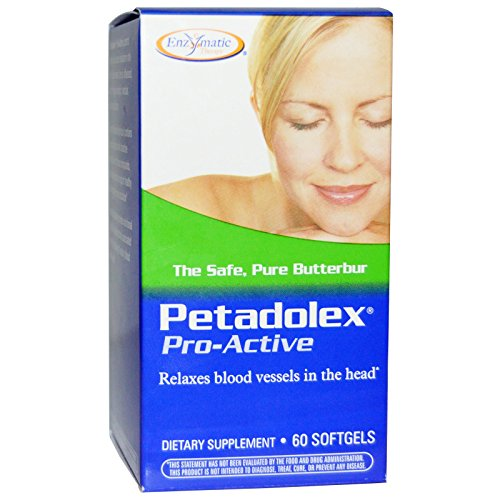Enzymatic Therapy - Petadolex, Pro-Active, 60 Softgels by Enzymatic Therapy