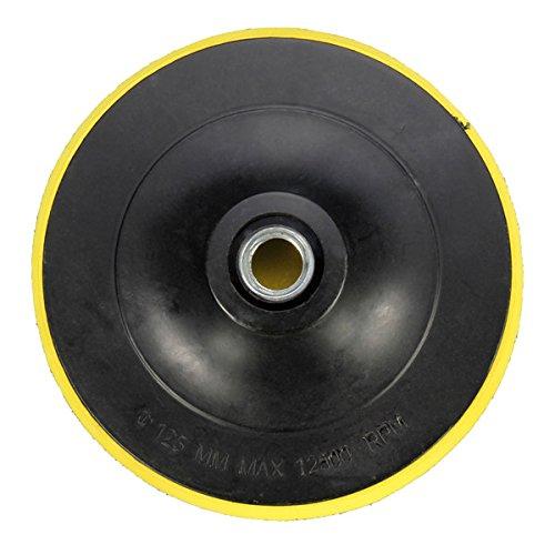 [해외]연삭 샌딩을위한 125mm 백킹 패드 후크 및 루프 패드/125mm Backing Pad Hook and Loop Pad for Grinding Sanding