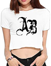 Women Crop Top Alter Bridge Vector Logo Myles Kennedy Crazy Design Shirts Tee