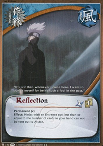 Naruto Card - Reflection 720 - Path of Pain - Rare - Foil - 1st Edition