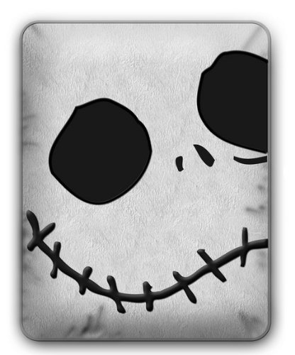 Nightmare Before Christmas Jack Face Rectangle - Faces Of Rectangle