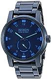 Nixon Men's A9372224-00 Patriot Analog Display Japanese Quartz Blue Watch