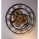 Cape Craftsmen Industrial Gears Metal Wall Clock 8