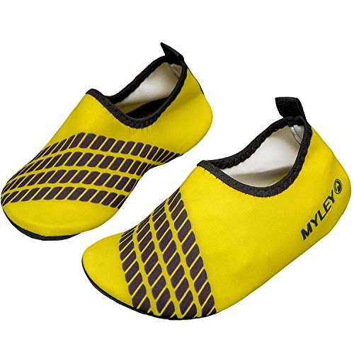 MOERDENG Girls Boys Lightweight Water Shoes Soft Barefoot Shoes Quick-Dry Aqua Socks