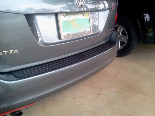 Rear Bumper Protector Fits 2009 - 2014 Volkswagen Jetta Wagon