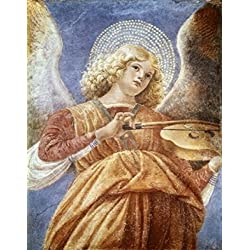 Music Making Angel with Violin ca 1480 Melozzo da Forl (1438-1494 Italian) Fresco Vatican Museums and Galleries Vatican City Poster Print (24 x 36)