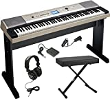 Yamaha YPG-535 88-Key Digital Piano w/Knox Adjustable X Style bench &...