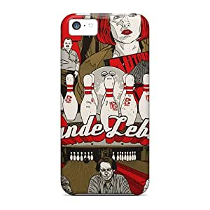 Hot Snap-on The Big Lebowski Hard Cover Case/ Protective Case For Iphone 5c