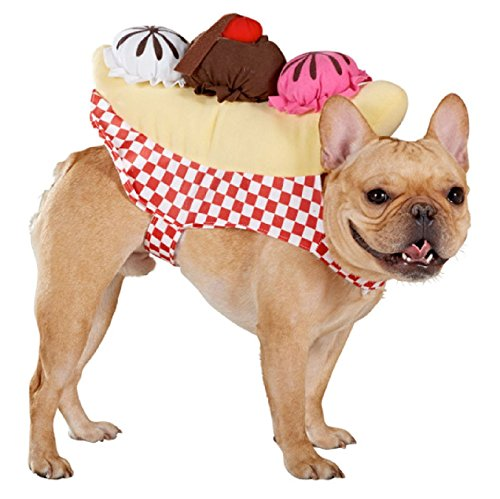 Top Paw Ice Cream Dog Costume Large/Xl (Banana Costume For Dogs)