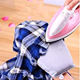 Portable Ironing Boards, Travel Essential Home Space Saving Heat Resistant Easy Storage Sponge mat Mini Ironing Board-A L22.5xW14.5xH3.5cm(9x6x1inch)