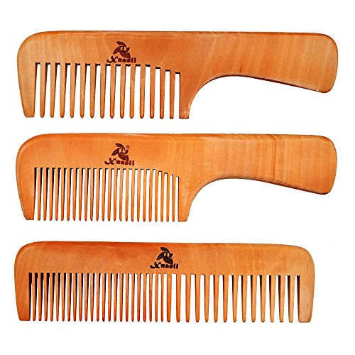 PCS Peach Wooden Comb Women product image