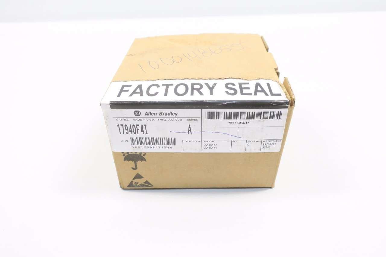 NEW ALLEN BRADLEY 1794-OF4I FLEX I/O OUTPUT MODULE SER A 24V-DC D580180