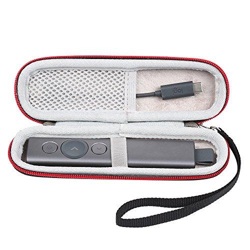 Faylapa Hard EVA Case for Logitech Spotlight Advanced Presentation Remote,Powerpoint Clicker Presentation Remote Control Pen Protective Case Carrying Pouch Bag(Case Only)
