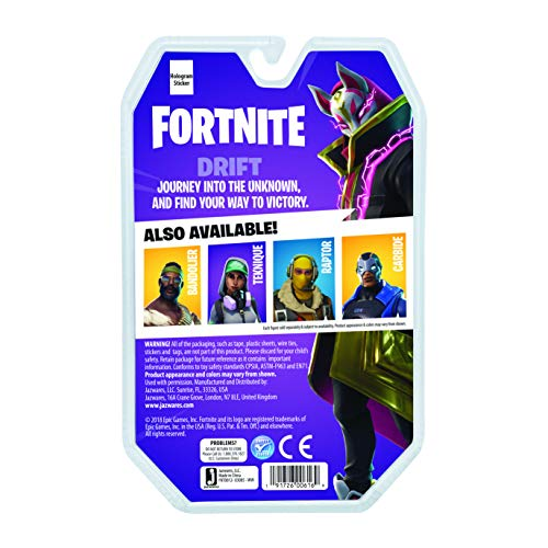 Fortnite Solo Mode Core Figure Pack, Drift