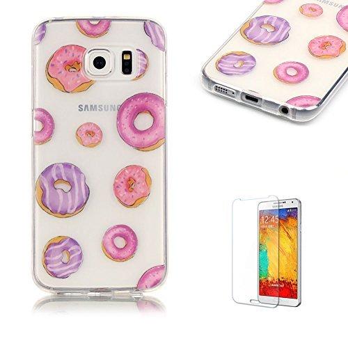 9 opinioni per Cover per Samsung Galaxy S6 Edge,Funyye Morbida Sottile TPU Gel Silicone