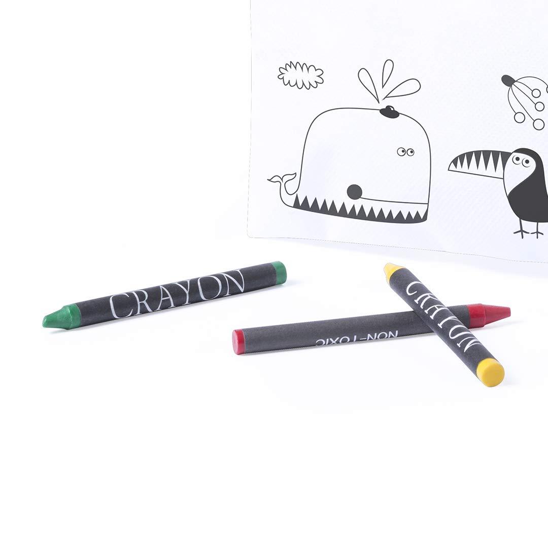 Ideal Para Regalos de Cumplea/ños Lote de 30 Estuches para Colorear con 5 Pinturas de Cera Incluidas cada uno fiestas de Colegios,comuniones ni/ños bodas