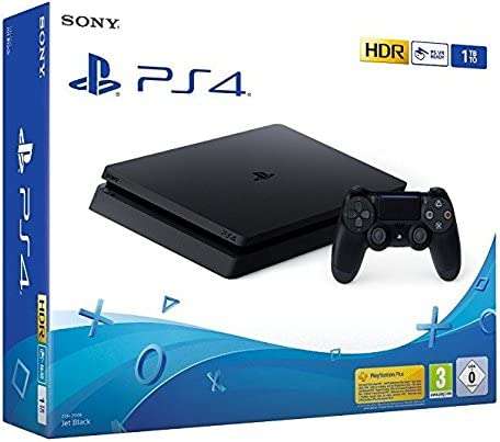 PlayStation 4 - Konsole (1TB, schwarz, E-Chassis) [Importación ...