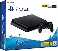 Playstation 4 Ps4 Slim 1 Tera Novo Caixa Lacrado