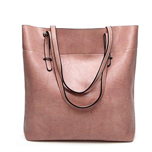 tracolla VogueZone009 tracolla Borse Borse Shopping Donna Rosa a cerniere a Luccichio pqqrzw0X