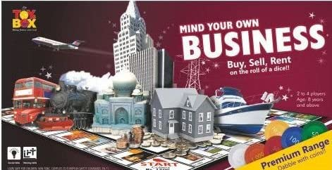 toyztrend Strategy Business Jumbo Premium Game for Young Businessman to Build Their own World of Properties