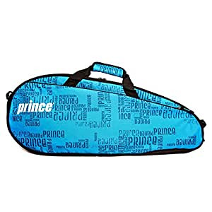 Prince 2016 Club (3-Pack) Tennis Bag (Black/Blue)