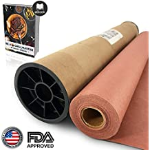 "Pink/Peach Butcher Paper Roll - 24"" x 150' in Durable Carry Tube & eBook 