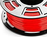 3DDPLUS 1.75mm PLA 3D Printer Filament True Red- 1kg Spool (2.2 lbs) - Dimensional Accuracy +/- 0.03mm