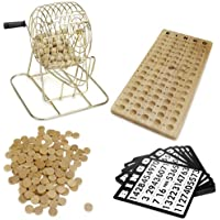 Royal Bingo Supplies Wooden Bingo Game