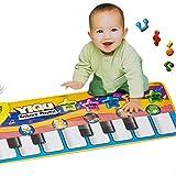 Baby Music Sport Play Mat 72*28Cm 0-3 Years Kids Piano Keyboard For Animal Toys Carpet Crawling Mats^.