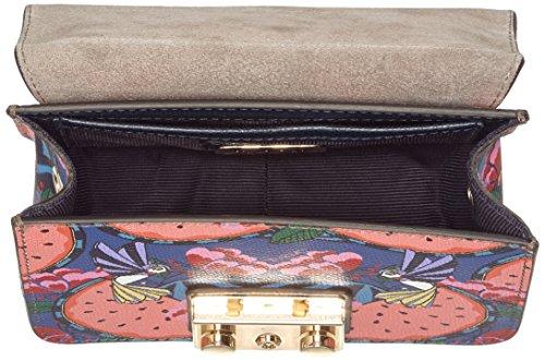 FURLA Metropolis Mini Crossbody, Borsa a tracolla Donna 8x12x16.5 cm (B x H x T) Pink (Toni Rosa Quarzo)