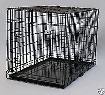 BestPet Pet Wire Cage with Metal Pan, 36-inch from BestPet