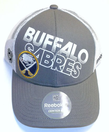 Buffalo Sabres TNT Trucker Flex Fit Mesh Back Hat (Reebok Mesh Buffalo Sabres)