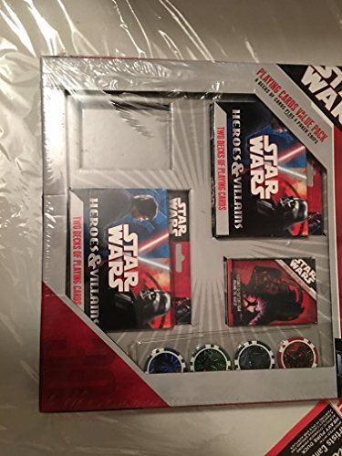 Star Wars Playing Cards & Poker Chips Value Pack by Star Wars