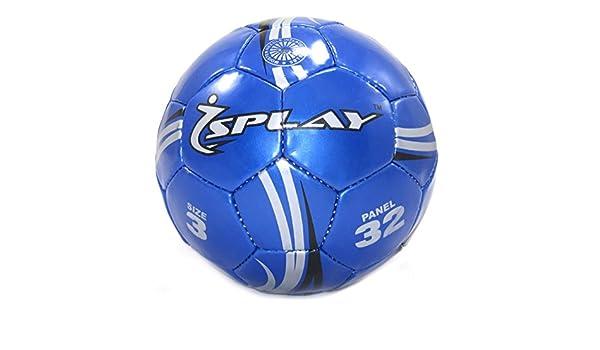 Splay – Kicker – Balón de fútbol (tamaño 3), Color Azul: Amazon.es ...