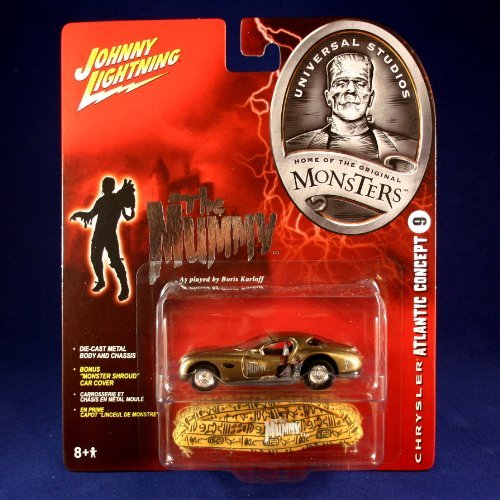 CHRYSLER ATLANTIC CONCEPT #9 THE MUMMY Johnny Lightning - Johnny Lightning The Mummy