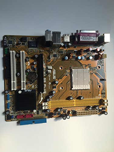 Asus Motherboard M2N-MX SE Plus- No Heatsink (Asus Green Am2 Motherboard)