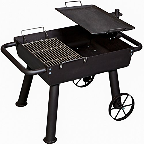 Camp Chef Wood Fire Cook Wagon (FPGG) Portable Camping Stove Grill ()