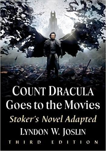 com count dracula goes to the movies stoker s novel  com count dracula goes to the movies stoker s novel adapted 9781476669878 lyndon w joslin books