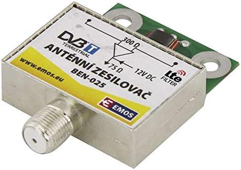 Preamplificador Antena Aplificacion 25 dB Entradas VHF/UHF ...