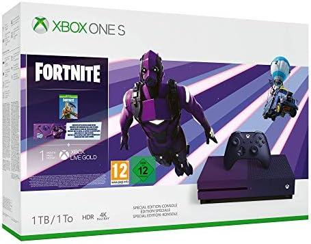 Xbox One S 1TB Console - Fortnite Battle Royale Special Edition Bundle [Importación inglesa]: Amazon.es: Videojuegos
