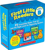 First Little Readers Parent Pack: Guided Reading Level B: 25 Irresistible Books That Are Just the Right Level