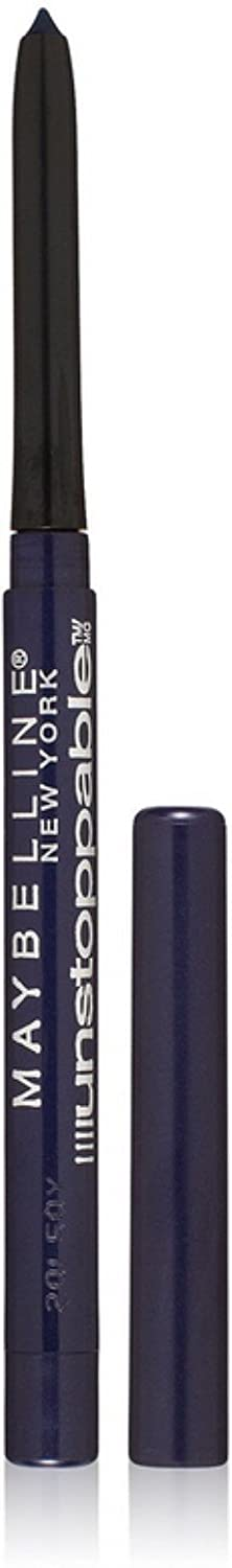 Maybelline New York Unstoppable Waterproof Eyeliner, Sapphire [708] 0.01 oz (Pack of 2)