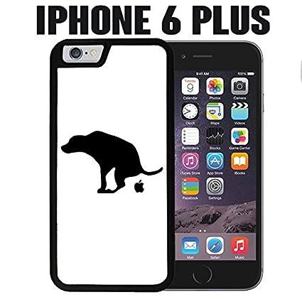 Amazon com: iPhone Case Funny Dog Apple Prank for iPhone 6