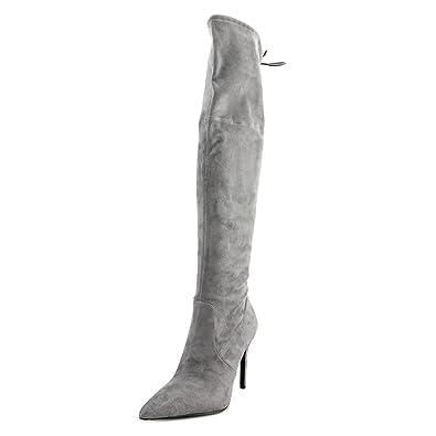 GUESS Women's Akera Gray Boot 6.5 M