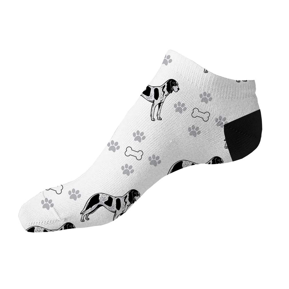 Bleu De Gascogne Grand Dog Pattern #1 Men-Women Adult Ankle Socks