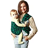 KiddyRay Ring Sling Baby Carrier Wrap – Cotton Natural...